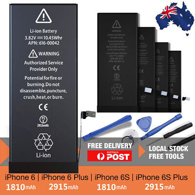 AU16.79 • Buy High Capacity Internal Battery Replacement For IPhone 7 8 Plus 6 6s 7