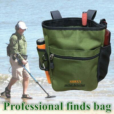 Metal Detecting Gold Finds Bag Digger Pouch For PinPointer ProPointers Tools Bag • 17.08£