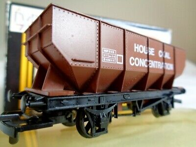 Dapol Bauxite 21 Ton 'House Coal Concentration' Hopper Wagon. B124. OO Gauge. • 14.99£