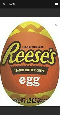 £39.99 • Buy 48 X 34G  REESE'S REESE CHOCOLATE & PEANUT BUTTER CREME EGGS NEW EASTER Full Box
