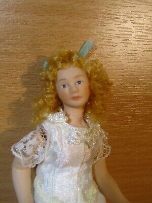 Dolls House Doll Figure, Beautiful Edwardian, Victorian Lady Half Dressed • 20.67£