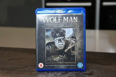 The Wolfman: Complete Legacy Collection (blu-ray) 7-films, Like New • 4.20£