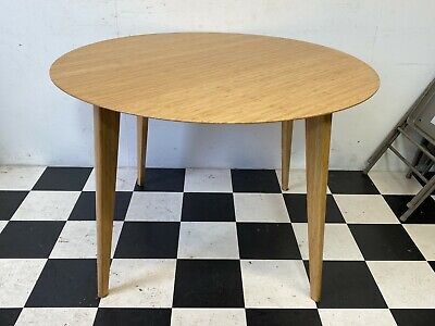 AU100 • Buy Modern Ikea Finede Bamboo Kitchen Dining Table Round Circle - Delivery Available
