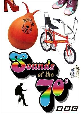 SOUNDS OF THE 70'S BBC TV  2-DVD SET Seventies • 16.24£