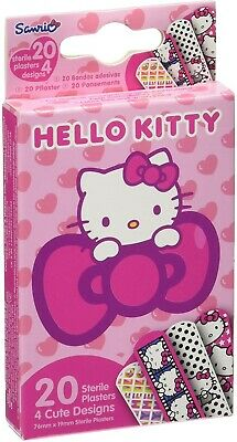 Sanrio Box Of 20 Hello Kitty Plasters • 4.99£
