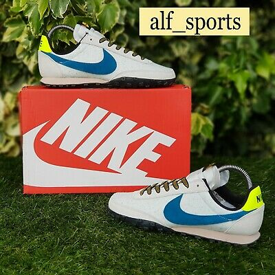 £79.99 • Buy ❤ BNWB & Authentic Nike ® Waffle Racer Retro Trainers In White & Blue UK Size 8