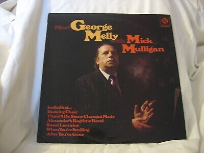 £9.99 • Buy Meet George Melly With Mick Mulligan LP.Free UK Delivery.