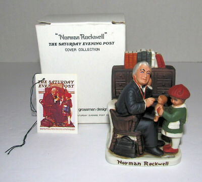 $ CDN31.88 • Buy Vintage Norman Rockwell Doctor And The Doll Figurine Dave Grossman Japan 1979