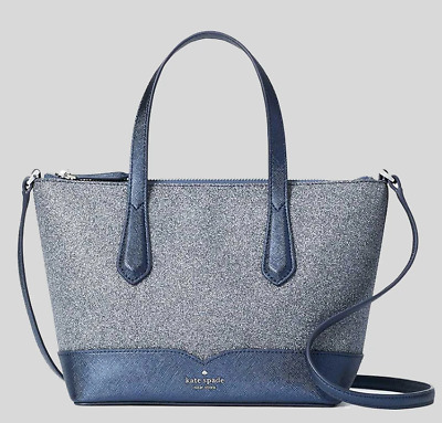 $ CDN92.74 • Buy Kate Spade Lola Greta Ina Joeley Glitter Small Top Zip Satchel Crossbody Bag
