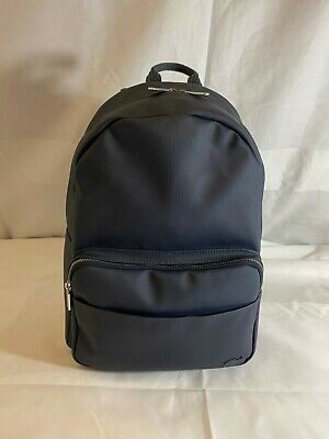 Beautiful And New - Lacoste - Top Of The Range - Dark Navy Rucksack - Perfect!! • 65£