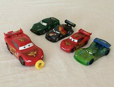 Disney Pixar Cars Decorative Birthday Bubble Blower Vehicles Cake Toppers  • 7.16£