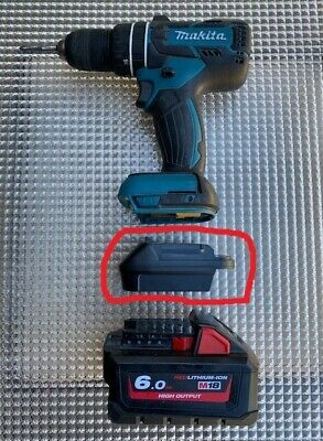 AU45 • Buy Makita Tools Battery Adaptor To Use With Milwaukee And DeWalt Batteries *New*