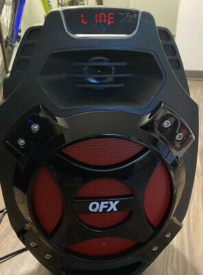 $ CDN63.02 • Buy QFX PBX-61081BT Bluetooth Party Portable Speaker With Remote