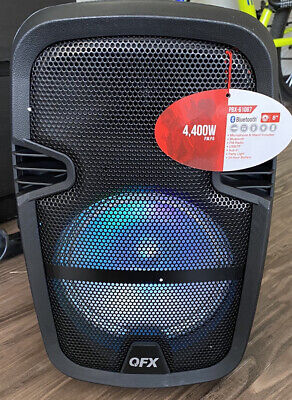 $ CDN50.63 • Buy QFX PBX-61081BT Bluetooth Party Portable Speaker With Remote