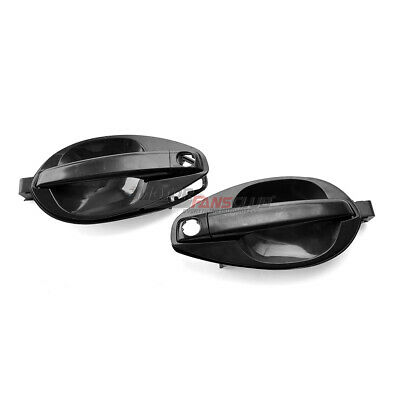 $28.96 • Buy 2x Outside Door Handle Catch Left Right Set For Hyundai Tiburon Coupe 2003-2008