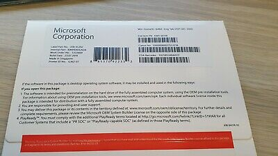 $ CDN62.03 • Buy Microsoft Windows 10 Home 64bit Software OEM Package With DVD And COA