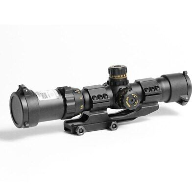 $177.81 • Buy Shockproof Military 1-4x28 Rifle Scopes Hunting Tactical Blue Green Red