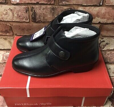 Pavers Ankle Boots Navy Blue Size 5 38 Brand New In Box RRP £39.99 • 35£