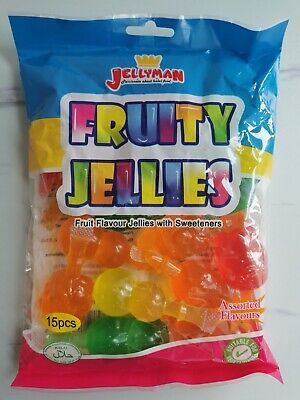£7.45 • Buy FULL BAG FRUIT JELLY TIK TOK FRUITY JELLIES CHALLENGE TREND 15pcs  Sweets Candy