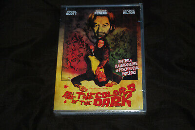 All The Colors Of The Dark - OOP R1 Shriek Show - Edwige Giallo Fenech - New • 19.99£