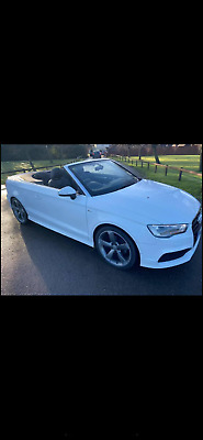 2016 (65) Audi A3 Convertible 1.6 Turbo Diesel S Line Mint No Swap Px Bmw 4x4  • 6,680£