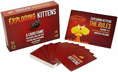 AU43.88 • Buy Game Card Exploding Kittens Sealed Original Party Game 2 5 Players