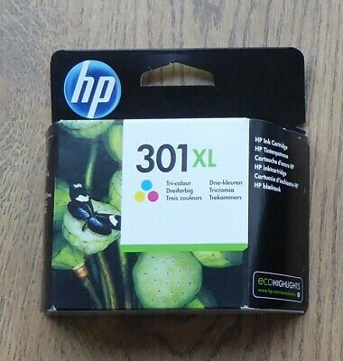 HP 301XL (CH564EE) Tri-Colour Ink Cartridge - Unopened • 14.50£