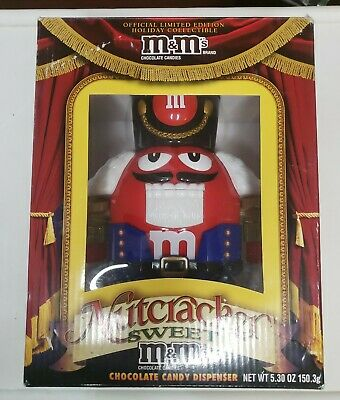 £8.51 • Buy M&M's Nutcracker Sweet Limited Edition Red Chocolate Candy Dispenser In Box