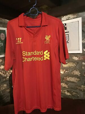 """£19 • Buy Liverpool Home Football Shirt 2012/13 Adults Large Warrior L 21"""" P2P"""