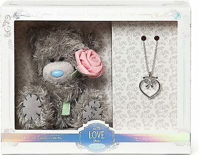 Me To You Bridesmaid Bear And Necklace Gift Set, Silver-Plated, Adorable Tatty • 19.99£