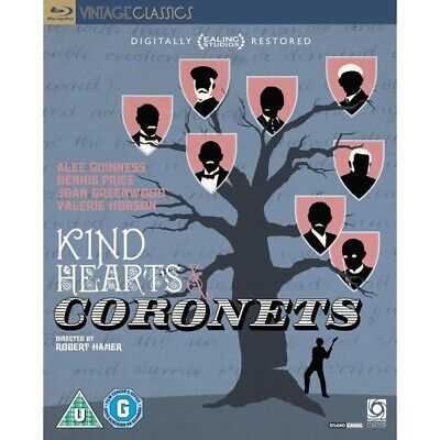 Kind Hearts And Coronets ! Ealing Studios Bluray Studiocanal • 6.99£