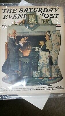 $ CDN16.68 • Buy THE SATURDAY EVENING POST Oct. 22 1927 Tea For Two By ROCKWELL Magazine