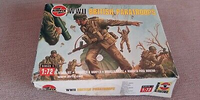 Vintage Airfix WW2 British Paratroopers Series1 1:72 Scale  • 3.50£