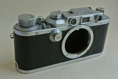 Leica IIIa Camera Body With Cap, No; 316156. Working, Good Condition Overall  • 255£
