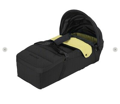 Maclaren Techno XLR Soft Carrycot - In Black Lime. Brand New! • 35£
