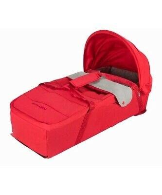 Maclaren Techno XLR Soft Carrycot In Scarlet/Charcoal. Boxed Brand New! • 35£
