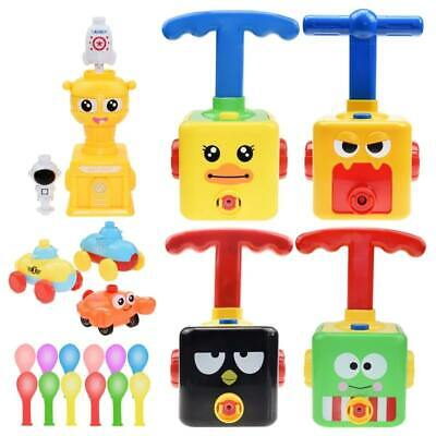 AU67.33 • Buy 2 Sets Fun Balloon Launcher Power Car Toy Set For Kids, FREE Shipping From USA