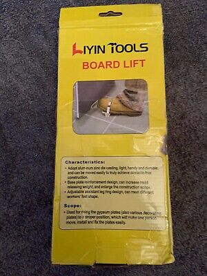 £20 • Buy Lazy Lift Door And Board Lifter Drywall Plaster Sheet Operated Fitting Tools NEW
