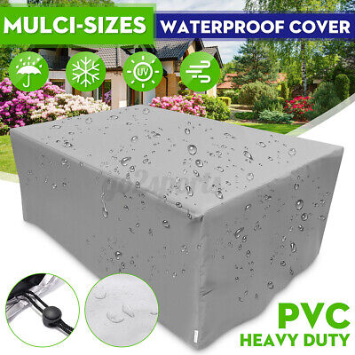 AU30.88 • Buy Waterproof Outdoors Furniture Cover Yard UV Garden Table Chair Shelter Protector