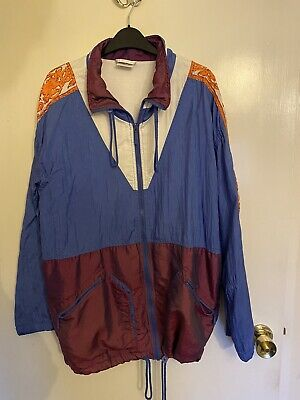 Vintage/retro Adidas Tracksuit Top 1990's, Shell Suit Jacket • 12£