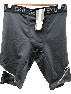 SKIN 360 Mens Black Thermal Base Layer Shorts Large BNWT • 15.98£