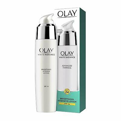 AU34.99 • Buy Olay White Radiance Advanced Whitening Brightening Intensive Skin Lotion, 75ml