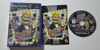 Buzz! The Hollywood Quiz Ps2 Playstation Game Buzz Trivia Questions No Buzzers • 7.95£