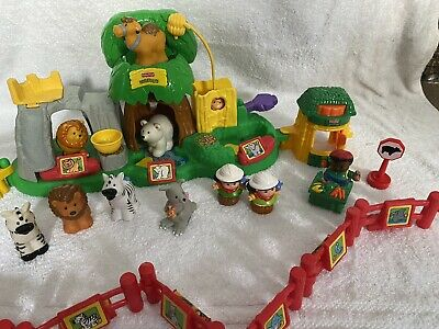 Fisher Price Little People Zoo Set With Sounds • 14.50£