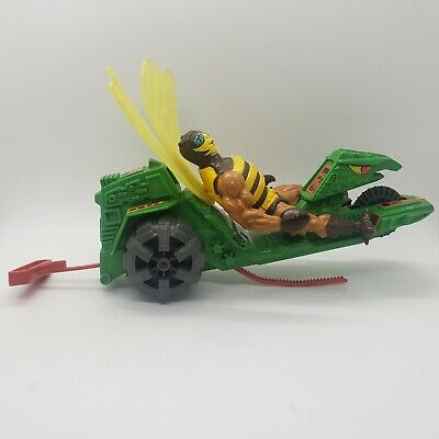 $25.99 • Buy Vintage Masters Of The Universe Road Ripper W/ Belt Cord + Buzz Off Figure MOTU