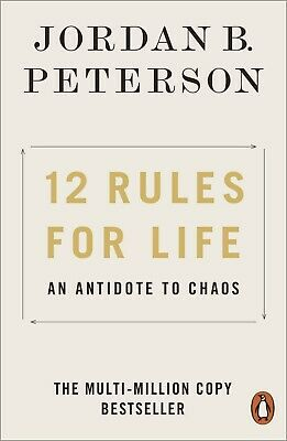 AU9.50 • Buy 12 Rules For Life: An Antidote To Chaos By Jordan B. Peterson