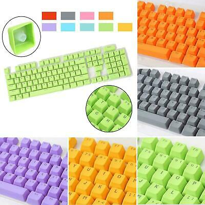 Universal 104Pcs PBT Colourful Key Cap Keycaps For Cherry MX Mechanical Keyboard • 10.99£