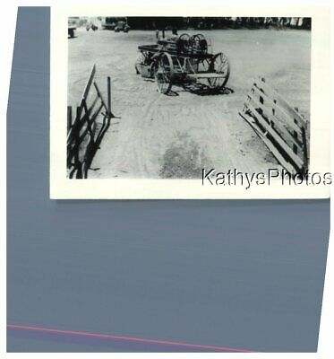 $ CDN8.72 • Buy Found B&w Photo G_2153 Wagon Wheels Cart