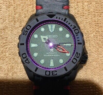 $ CDN600 • Buy SEIKO SKX007 Mod  The Red And The Black