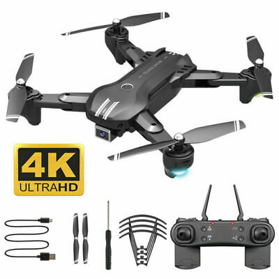 AU49.99 • Buy 2021 RC Drone 4K HD Wide Angle Camera WiFi FPV Drone RC Quadcopter W/3 Batteries